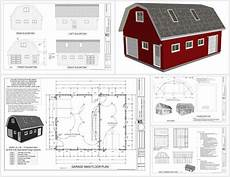 gambrel barn house plans gambrel barn sds plans house plans 152501