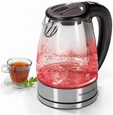 led wasserkocher gourmetmaxx wasserkocher glas led temperaturwahl 1 7 l
