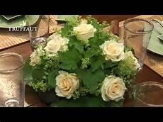 Floral Un Centre De Table Rond Jardinerie Truffaut