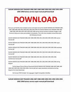download car manuals pdf free 1989 suzuki sidekick electronic toll collection suzuki sidekick geo tracker 1986 1987 1988 1989 1990 1991 1992 1993 1994 1995 1996 service