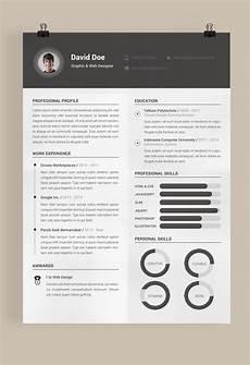 free resume template behance