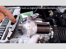 07 Honda Accord Starter Motor Replacement Video
