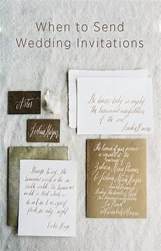 When Wedding Invitations Should Be Sent