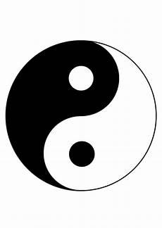 kleurplaat yin yang gratis kleurplaten om te printen