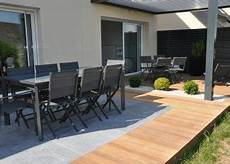 Terrasse Bois Et Carrelage Dj Cr 233 Ation Amenagement