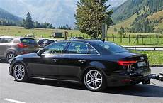2017 audi s4 spotted testing in the alps the camouflage is completely gone autoevolution
