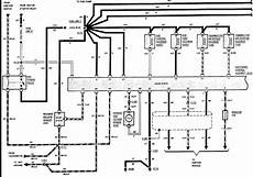 86 ford truck wiring diagram 86 ford bronco no fuel pressure with codes 11 17 and 18 fuel pumps