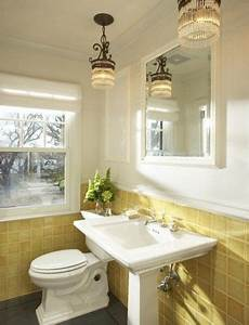 sallyl martha o hara interiors sunny yellow bathroom
