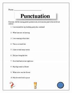 punctuation worksheets for grade 3 with answers 20769 punctuation worksheet by teachers pay teachers