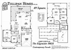 edgewater house plan edgewater mk 2 downslope design home design tullipan