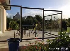 pare vent vitré pare vent en verre pour terrasse mod 232 le bretagne 224 morlaix
