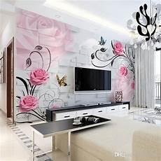 Living Room Tv Background Wallpaper Mural 3d Stereo