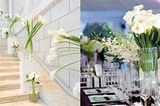 modern wedding calla centerpieces elizabeth designs the wedding blog