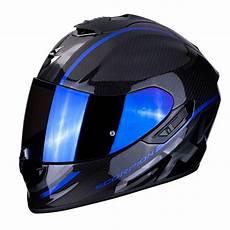 helmet scorpion exo 1400 air carbon grand blue