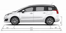 Peugeot 5008 Mpv Technical Information