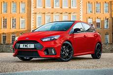 ford focus rot ford focus rs edition limited run special revealed