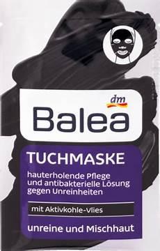 balea tuch maske mit aktivkohle vlies 1 st dauerhaft