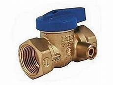 2 inch by 3 1 4 inch business gas valve 3 4 inch brass style with 1 8 inch side tap