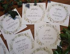 elvish wedding table names lord of the rings wedding table names card table wedding wedding