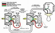 wiring diagram for 2 switches 1 light