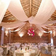 decoration salle de mariage plafond tenture de salle blanche d 233 coration de salle f 234 te badaboum
