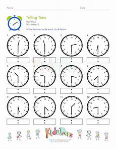 time worksheets half hour 3015 the world s catalog of ideas