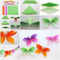 diy easy folded paper butterflies icreativeideas