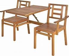 banc de jardin convertible en table chaises en bois