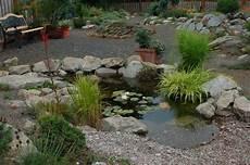 Steingarten Mit Teich - water feature rock garden farm