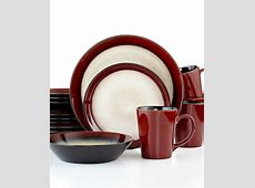 Pfaltzgraff Everyday Aria Red 16 Pc. Set, Service for 4