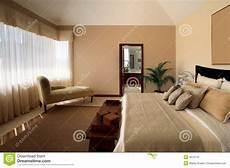 da letto arredata casa elegante da letto fotografia stock immagine