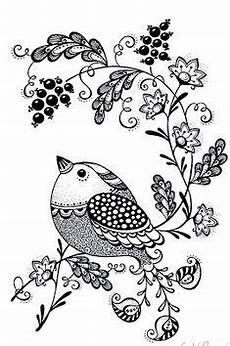 Vogel Malvorlagen Jepang B Zahlencode Blumen Malen Blumenzeichnung Zentangle