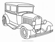 printable classic car coloring pages 16553 cars my coloring land