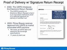 certified return receipts go electronic to cut costs