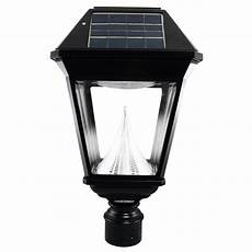 gama sonic imperial ii solar black outdoor integrated led light 3 in fitter with 21