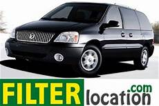how cars engines work 2007 mercury monterey navigation system where is located ford mercury monterey cabin air filter