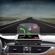 2 in 1 hud up display navigation car gps phone mount