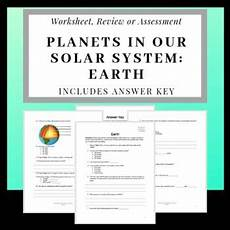 earth science prologue worksheets 13357 planets of our solar system introduction to earth our solar system science lesson plans