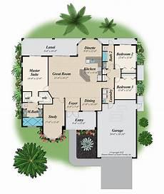 the slater home plan 3 bedroom 2 bath 2 car garage