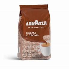 crema e aroma lavazza kaffeebohnen f 252 r espresso lavazza