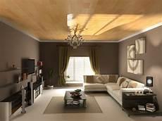 Modernes Wohnzimmer Braun - light brown living room walls modern house
