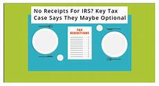 tax deduction receipt requirements the irs the cohan rule