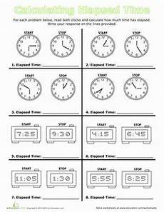 elapsed time worksheets grade 4 3339 calculate elapsed time balanced schooling homeschool teaching math math classroom second