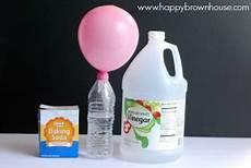 backpulver und essig up a balloon with baking soda and vinegar happy