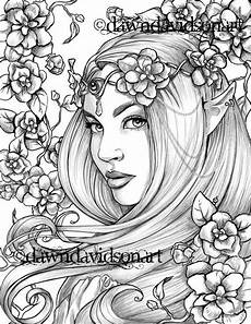 free coloring pages for adults to print 16670 freckles the coloring page printable colouring for adults instant grayscale