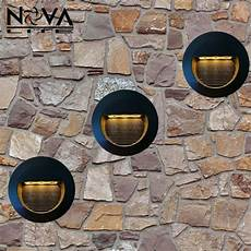 aliexpress com buy 3w outdoor recessed led wall l exterior led step light with built