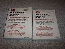 car repair manuals online free 1987 audi 5000cs lane departure warning 1984 1985 1986 1987 1988 audi 5000s 5000cs shop service