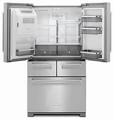 Kitchenaid Refrigerator by Kitchenaid 25 8 Cu Ft Multi Door Refrigerator Stainless