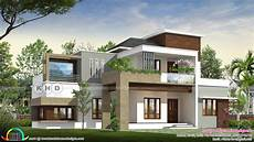 contemporary house plans in kerala 2273 sq ft 4 bedroom modern contemporary house kerala