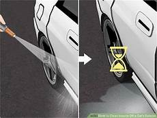 3 ways to clean insects off a car s exterior wikihow